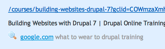 What to wear to drupal training